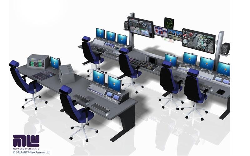 Broadcast Furniture Product Gallery Mw Video Systems Mw