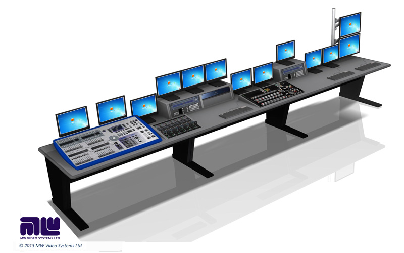 Broadcast Furniture Product Gallery MW Video Systems
