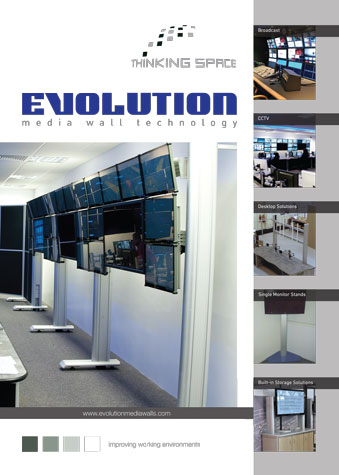 evolution media wall brochure front cover image